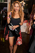 EMMA MCQUISTON, Dirty Pretty Things - summer party. Lingerie line hosts  party celebrating its new online shop and showcasing the latest collection. The Lingerie Collective, 8 Ganton Street, Soho. London, 15 June 2011<br /> <br />  , -DO NOT ARCHIVE-© Copyright Photograph by Dafydd Jones. 248 Clapham Rd. London SW9 0PZ. Tel 0207 820 0771. www.dafjones.com.