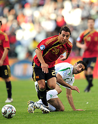 Santi Cazorla  during the soccer match of the 2009 Confederations Cup between Spain and Iraq played at Vodacom Park,Bloemfontein,South Africa on 17 June 2009.  Photo: Gerhard Steenkamp/Superimage Media.