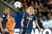 Kheira Hamraoui - 28.03.2015 - Paris Saint Germain / Glasgow City FC - 1/4Finale retour Champions League<br /> Photo : Andre Ferreira / Icon Sport