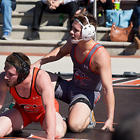 Wrestling Black & Orange Homecoming