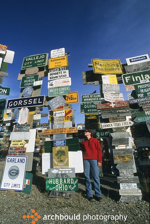 Signposts at Watson Lake, Yukon