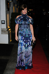 Emma Forbes arrives at the Daily Mail Inspirational Woman of The Year Awards, London, Wednesday January 18, 2012. Photo By i-Images