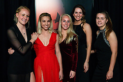 18-12-2019 NED: Sports gala NOC * NSF 2019, Amsterdam<br /> The traditional NOC NSF Sports Gala takes place in the AFAS in Amsterdam / Voetbalsters met oa. Jacky Groenen op de rode loper,