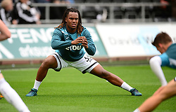Renato Sanches of Swansea City warms up prior to kick off. - Mandatory by-line: Alex James/JMP - 10/09/2017 - FOOTBALL - Liberty Stadium - Swansea, England - Swansea City v Newcastle United - Premier League