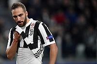 Gonzalo Higuain Juventus <br /> Torino 13-02-2018 Juventus Stadium  Football Champions League 2017/2018 Juventus - Tottenham . Foto Andrea Staccioli / Insidefoto
