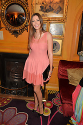 TALI SHINE at the launch of GP Nutrition held at Annabel's, 44 Berkeley Square, London on 26th January 2016.