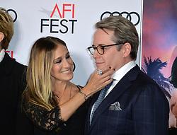 Matthew Broderick & Sarah Jessica Parker bei der Premiere von Rules Don't Apply in Hollywood<br /> <br /> / 101116<br /> <br /> ***Premiere of Rules Don't Apply in Hollywood in november 10, 2016***