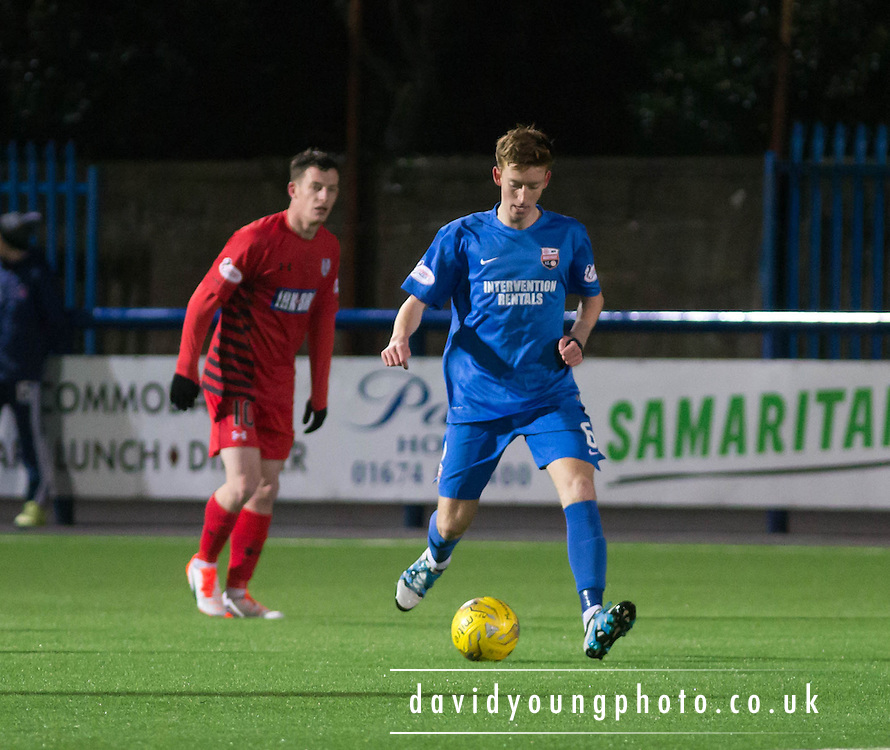 Matty Allan - Montrose v Queens Park - SPFL Division 2 at Links Park<br /> <br />  - &copy; David Young - www.davidyoungphoto.co.uk - email: davidyoungphoto@gmail.com