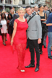 © Licensed to London News Pictures. 04/08/2014, UK. Frankie Essex, The Expendables 3 - World Film Premiere, Leicester Square, London UK, 04 August 2013. Photo credit : Richard Goldschmidt/Piqtured/LNP