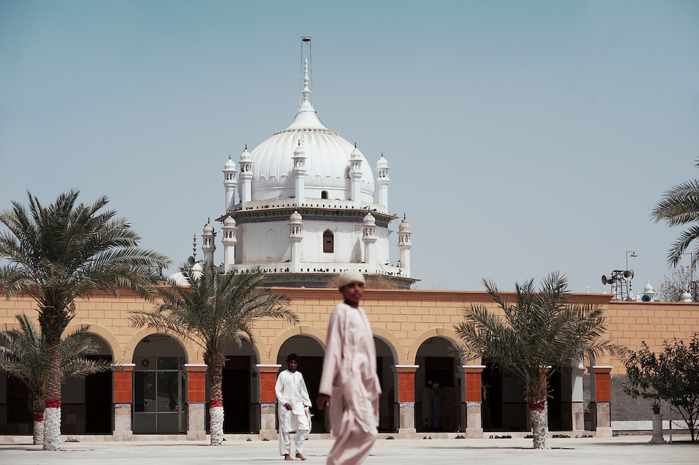 Bharchundi Sharif, a Muslim shrine in Ghotki district, Sindh, Pakistan on March 23, 2012.A rise in in reports of forced conversion of Hindu girls to Islam in provinces in Pakistan has gained prominence within the political, media, religious and social domains with the case of a 21 year old woman Rinkle Kumari. On February 24, 2012 her family reported to police of Ghotki district, Sindh province that she had been abducted by armed men from the family home in the village of Mirpur Mathelo. it is then alleged by the family and broadrer hindu community that she was forced to convert to Islam and marry Syed Naveed Shah, a neighbour of the girl within their village. Complications with court hearings for the case, perceptions by the Muslim community that the police sided with the Muslim community when dealing with issue and the politicisation of the case by a Pakistan Peoples Party Member for National Assembly Mian Abdul Haq alias Mian Mitho has led to a hearing being called in the Supreme Court, Islamabad, Pakistan on March 26, 2012. The hearing will hopefully ascertain whether the girl was abducted or in fact left with Syed Naveed Shah of her own free will.
