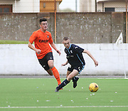 Dundee's Ryan Gemmell and Dundee United's Aaron Duke -  Dundee v Dundee United under 20s<br /> <br />  - &copy; David Young - www.davidyoungphoto.co.uk - email: davidyoungphoto@gmail.com