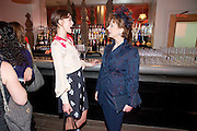kEIRA KNIGHTLEY; MAUREEN LIPMAN, The Society of London Theatre lunch for all the nominees for the 2010 Laurence Olivier Awards. Haymarket Hotel, 1 Suffolk Place, London, 2 March 2010
