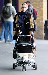 Peaches Geldof out with her son Astala in London. Peaches recently confirmed that she is expecting her second child just six months after giving birth. UK. 22/11/2012<br />BYLINE MUST READ : JAMESY/GOTCHA IMAGES<br /><br />Copyright by © Gotcha Images Ltd. All rights reserved.<br />Usage of this image is conditional upon the acceptance <br />of Gotcha Images Ltd, terms and conditions available at<br />www.gotchaimages.com