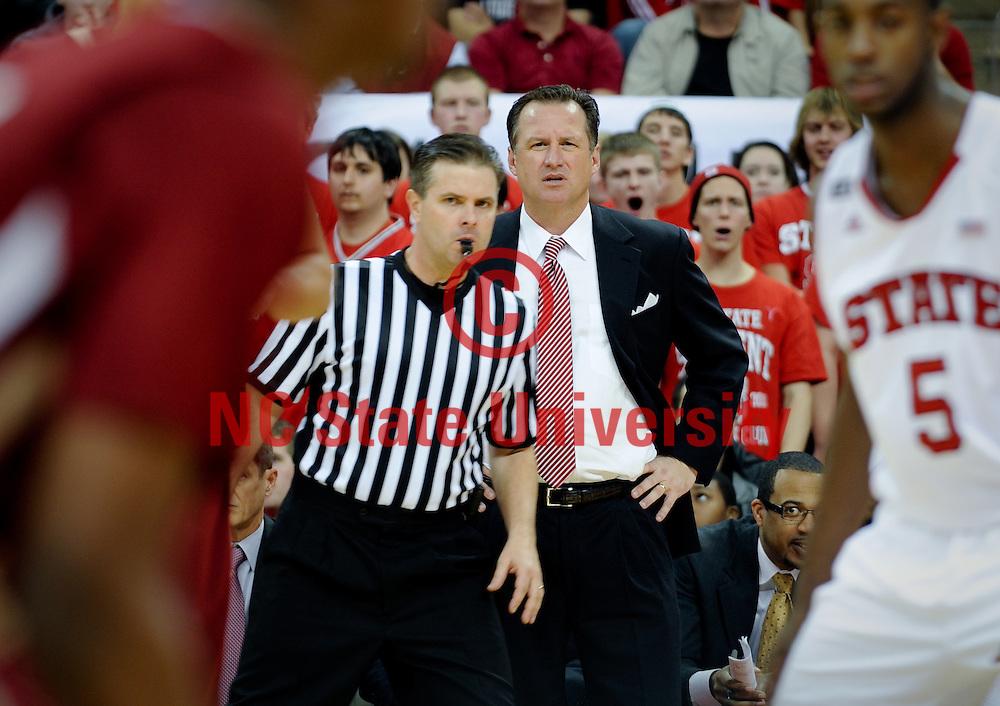 NCSU Head Basketball Coach Mark Gottfried.