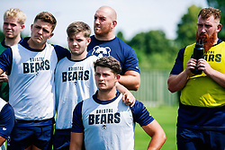 Piers O'Conor looks on during week 1 of Bristol Bears pre-season training ahead of the 19/20 Gallagher Premiership season - Rogan/JMP - 03/07/2019 - RUGBY UNION - Clifton Rugby Club - Bristol, England.