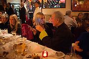KATE REARDON; KATE MOSS; SIR MARK WEINBERG, Chinese New Year dinner given by Sir David Tang. China Tang. Park Lane. London. 4 February 2013.