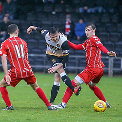 Dumbarton v Airdrieonians, Scottish League One, 8 December 2018