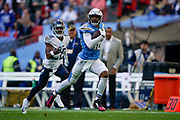 Touchdown, Los Angeles Chargers Tyrell Williams WR (16) 75 yard touchdown pass during the International Series match between Tennessee Titans and Los Angeles Chargers at Wembley Stadium, London, England on 21 October 2018.