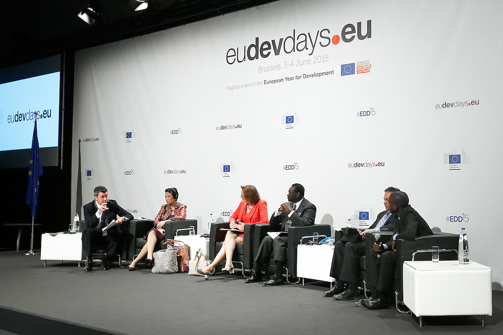 04 June 2015 - Belgium - Brussels - European Development Days - EDD - Migration - Migration is development - Making migration a driver for development © European Union