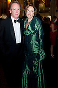PETER BALDWIN; DR. LISBET RAUSING, The 2009 Booker Prize dinner. Guildhall. London. 6 October 2009