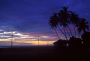 Sri Lanka.<br /> Dawn at Thirukovil, East Coast.