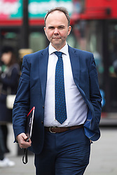 © Licensed to London News Pictures. 27/03/2019. London, UK. 10 Downing Street Chief of Staff Gavin Barwell arrives at Parliament for Prime Minister's Questions. MPs will hold a series of indicative votes on different Brexit options this evening. Photo credit: Rob Pinney/LNP