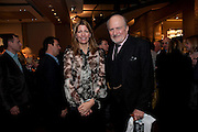 COSIMA VON BULOW; CLAUS VON BULOW, Santa Sebag Montefiore and Asprey's host a book launch for Jerusalem: the Biography by Simon Sebag Montefiore. Asprey. New Bond St. London. 26 January 2010. -DO NOT ARCHIVE-© Copyright Photograph by Dafydd Jones. 248 Clapham Rd. London SW9 0PZ. Tel 0207 820 0771. www.dafjones.com.