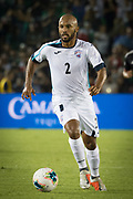 Cuba midfielder Andy Baquero (2) in action for the game between Mexico and Cuba in a CONCACAF Gold Cup soccer match in Pasadena, Calif., Saturday, June 15, 2019. Mexico defeated Cuba 7-0. (Ed Ruvalcaba/Image of Sport)
