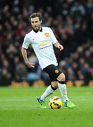 Manchester United's Juan Mata  - Photo mandatory by-line: Joe Meredith/JMP - Mobile: 07966 386802 - 20/12/2014 - SPORT - football - Birmingham - Villa Park - Aston Villa v Manchester United - Barclays Premier League