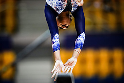 October 28, 2018 - Doha, Quatar - Marine Boyer of  France   during  Balancing Beam qualification at the Aspire Dome in Doha, Qatar, Artistic FIG Gymnastics World Championships on 28 of October 2018. (Credit Image: © Ulrik Pedersen/NurPhoto via ZUMA Press)
