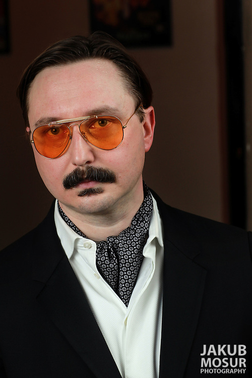 John Hodgman: an Evening of my Experience at Cobb's Comedy Club on January 20, 2012 as part of SF Sketchfest: The San Francisco Comedy Festival. The 11th annual SF Sketchfest is held at 15 venues in the San Francisco Bay Area from January 19 - February 4, 2012. (© 2012 Photo by Jakub Mosur)