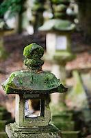 Japan Mara Stone lantern in garden