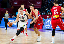 Luka Doncic of Slovenia vs Bogdan Bogdanovic of Serbia during the Final basketball match between National Teams  Slovenia and Serbia at Day 18 of the FIBA EuroBasket 2017 at Sinan Erdem Dome in Istanbul, Turkey on September 17, 2017. Photo by Vid Ponikvar / Sportida