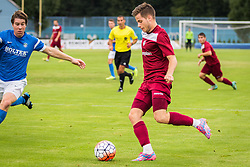 Players during football match between  NK Triglav Kranj and NK Roltek Dob in 2nd Round of 2. SNL 2015/16, on August 16, 2015 in SC Kranj, Slovenia. Photo by Ziga Zupan / Sportida