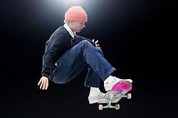 May 20, 2018 - Oslo, NORWAY - 180520 Herman Möller of Sweden competes in the men's street skateboard finals during X Games Norway on May 20, 2018 in Oslo.Photo: Fredrik Varfjell / BILDBYRÃ…N / kod FV / 150098 (Credit Image: © Fredrik Varfjell/Bildbyran via ZUMA Press)