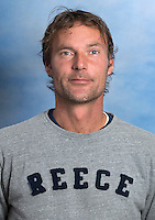 UTRECHT ,  Assistent coach Richard de Snaijer.   KAMPONG Dames I, seizoen 2015-2016. copyright Koen Suyk