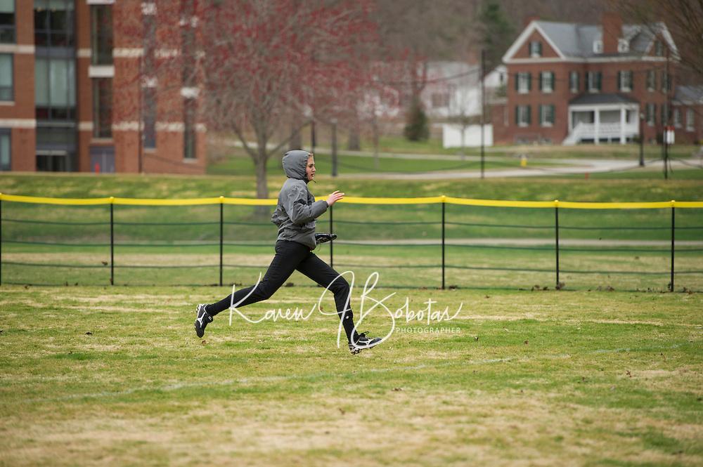 St Paul's School varsity Softball versus Tilton School.  ©2015 Karen Bobotas Photographer