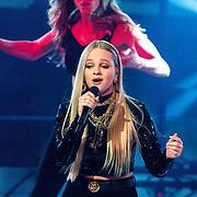 NLD/Hilversum/20200207 - Eerste lifeshow The Voice 2020, Sophia Kruithof