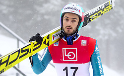 11.12.2016, Lysgards Schanze, Lillehammer, NOR, FIS Weltcup Ski Sprung, Lillehammer, im Bild Killian Peier (SUI) // Killian Peier of Switzerland // during Mens Skijumping of FIS Skijumping World Cup at the Lysgards Schanze in Lillehammer, Norway on 2016/12/11. EXPA Pictures © 2016, PhotoCredit: EXPA/ Tadeusz Mieczynski