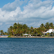Residential area at Rum Point, Garnd Cayman.