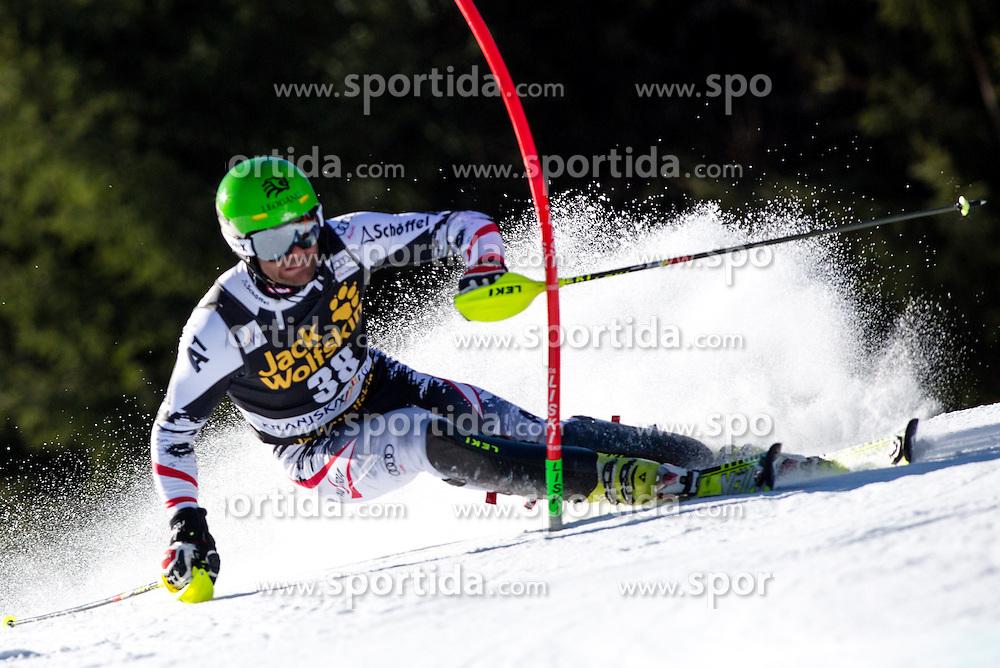HOERLWolfgang of Austria during the 1st Run of Men's Slalom - Pokal Vitranc 2014 of FIS Alpine Ski World Cup 2013/2014, on March 9, 2014 in Vitranc, Kranjska Gora, Slovenia. Photo by Matic Klansek Velej / Sportida