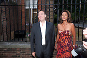 ALAN MILLER; GINA MILLER, Conservative Summer Party. Royal  Hospital Chelsea. London.  5 July 2010. -DO NOT ARCHIVE-© Copyright Photograph by Dafydd Jones. 248 Clapham Rd. London SW9 0PZ. Tel 0207 820 0771. www.dafjones.com.