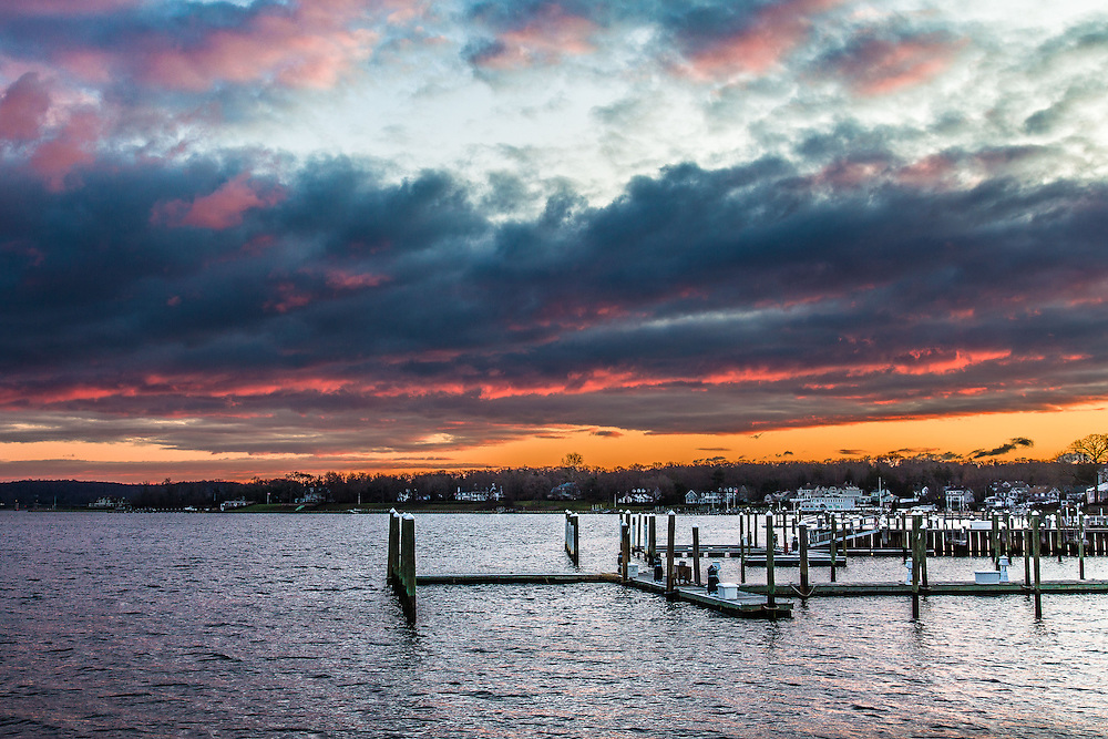 Sunrise, Navesink River, New Jersey