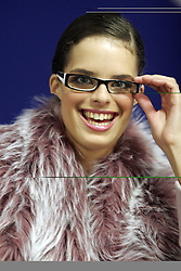 Woman with glasses. (Photo by Vid Ponikvar / Sportal Images)