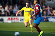 Wimbledon midfielder Anthony Hartigan (8)  during the EFL Sky Bet League 1 match between Scunthorpe United and AFC Wimbledon at Glanford Park, Scunthorpe, England on 30 March 2019.
