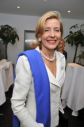 CHRISTINE ST.GEORGE at the launch of the 2009 Derby Festival in the presence of HRH Princess Haya of Jordan in aid of the charity Starlight held at the Kensington Roof Gardens, 99 Kensington High Street, London W8 on 12th May 2009.
