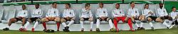 03.06.2010, Commerzbank-Arena, Frankfurt, GER, FIFA Worldcup Vorbereitung, Deutschland vs Bosnien-Herzegowina, im Bild vl. Dennis Aogo (Hamburger SV #04), Jerome Boateng (Hamburger SV #20), Hans-Jörg Butt (FC Bayern Muenchen #22), Thomas Mueller (FC Bayern Muenchen #13), Marko Marin (Werder Bremen #21), Stefan Kießling (Bayer Leverkusen #09), Tim Wiese (Werder Bremen #12), Marcell Jansen (Hambruger SV #02), Sami Khedira (VfB Stuttgart #06), Cacau (VfB Stuttgart #19), Toni Kroos (Bayer Leverkusen #18), Foto: nph /  Roth / SPORTIDA PHOTO AGENCY
