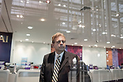 Prof. John D. Kasarda at Bangkok Airoport, one of hte chapter of his book is dedicated to this aerotrpoli, 19 February 2011..John D. Kasarda is Professor of Strategy and Entrepreneurship and Director of the Kenan Institute of Private Enterprise at the University of North Carolina's Kenan-Flagler Business School. He has published more than 100 articles and nine books on airport cities, aviation infrastructure, economic development, and competitiveness. He is considered the leading developer of the Aerotropolis concept defining the roles of aviation and airports in shaping 21st century business location, urban competitiveness, and economic growth