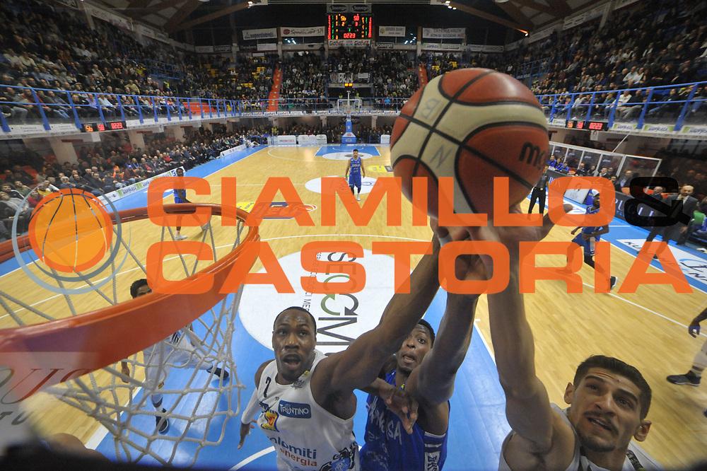 Sutton Dominique, Lalanne Cady<br /> Happycasa Basket Brindisi - Dolomiti Energia Trento<br /> Legabasket A 2017-2018<br /> Brindisi10 /12/2017<br /> Foto Ciamillo-Castoria/ M.Longo