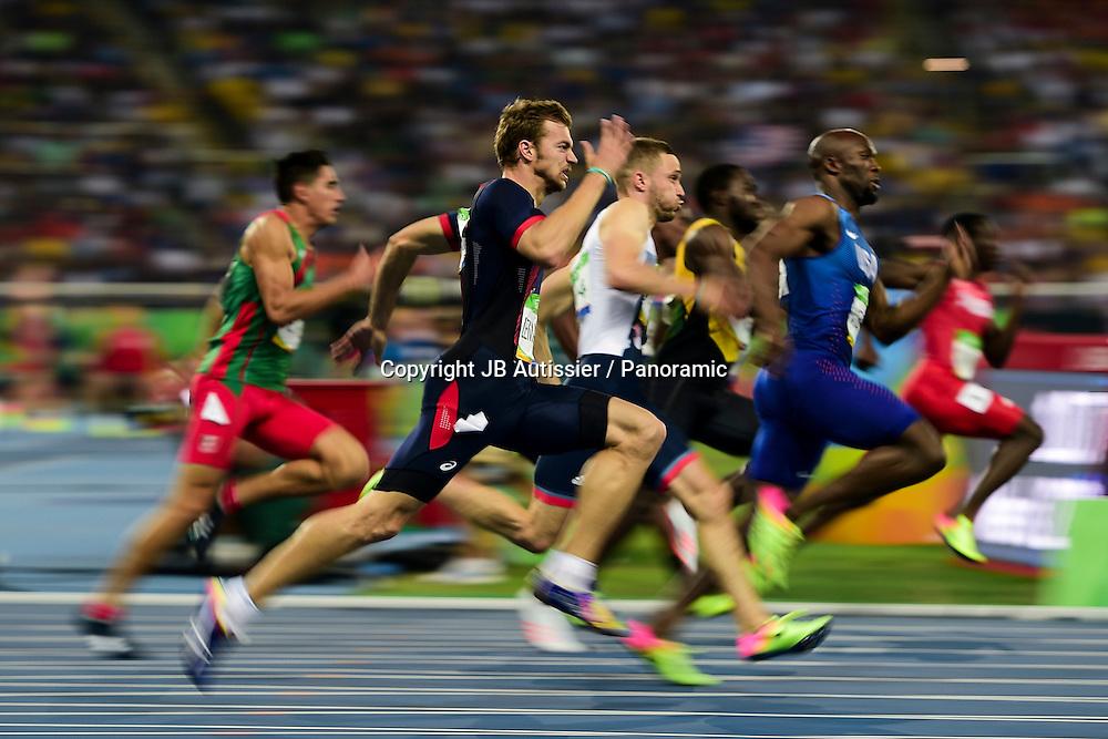 LEMAITRE Christophe (fra) - demi finale 200m hommes